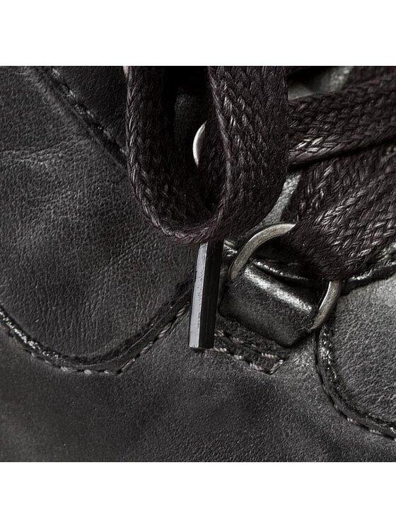 Calvin Klein Jeans Calvin Klein Jeans Sneakersy Vania Tumbled Calf RE8769 Čierna