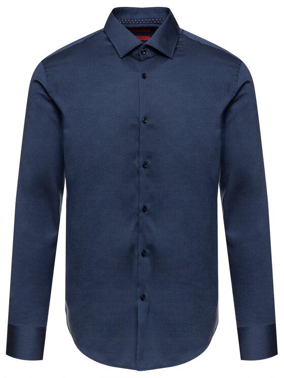 Hugo Hugo Marškiniai 50415289 Tamsiai mėlyna Slim Fit