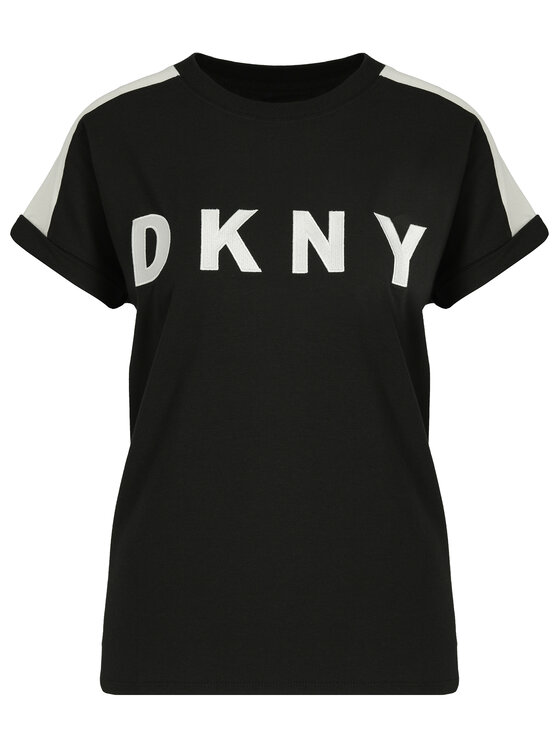 DKNY Sport DKNY Sport T-shirt DP9T6629 Nero Relaxed Fit