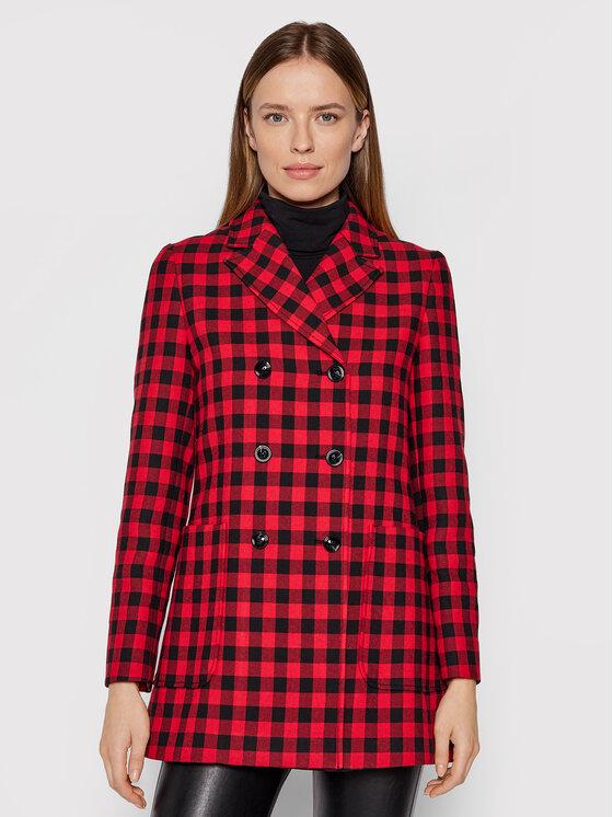 MAX&Co. Demisezoninis paltas Baldanza 70840221 Raudona Regular Fit