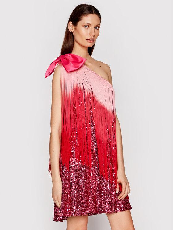 Babylon Kokteilinė suknelė N_S00809 Rožinė Regular Fit