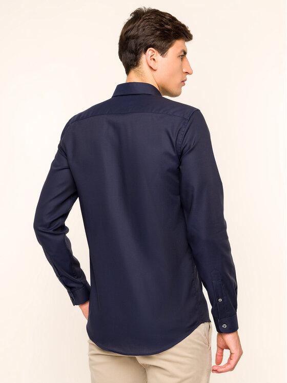 Lacoste Lacoste Πουκάμισο CH2041 Σκούρο μπλε Slim Fit
