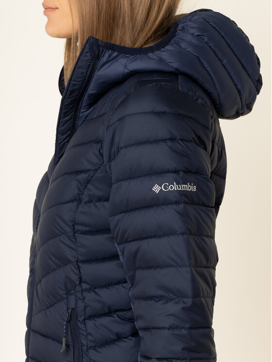 Columbia Columbia Daunenjacke Windgates 1803861 Dunkelblau Slim Fit