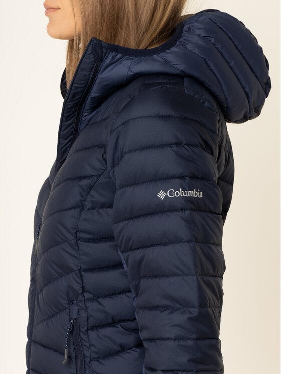 Columbia Columbia Kurtka puchowa Windgates 1803861 Granatowy Slim Fit