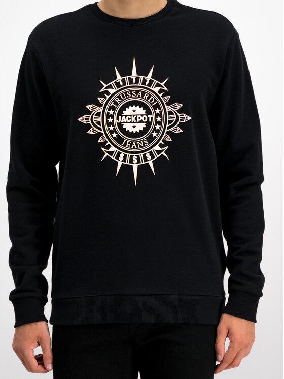 Trussardi Trussardi Sweatshirt 52F00076 Schwarz Regular Fit