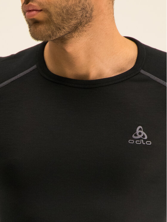 Odlo Odlo Techniniai marškinėliai Active X-Warm Bl 155162 Juoda Fitted Fit