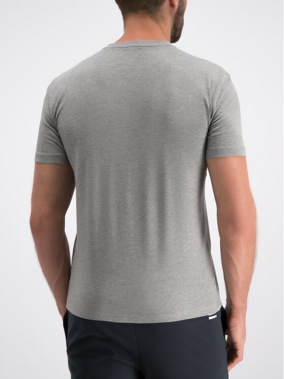 EA7 Emporio Armani EA7 Emporio Armani T-Shirt 3GPT01 PJ03Z 3905 Szary Regular Fit