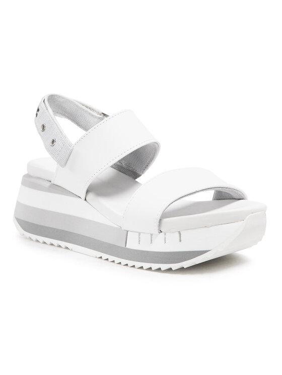 Blauer Sandały S1CHARLOTTE06/LEA Biały