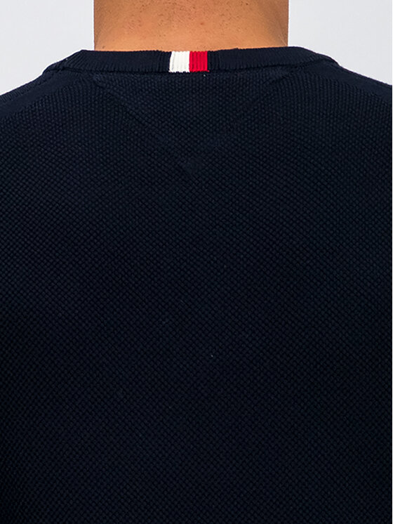 TOMMY HILFIGER TOMMY HILFIGER Maglione Ricecorn MW0MW11660 Blu scuro Regular Fit
