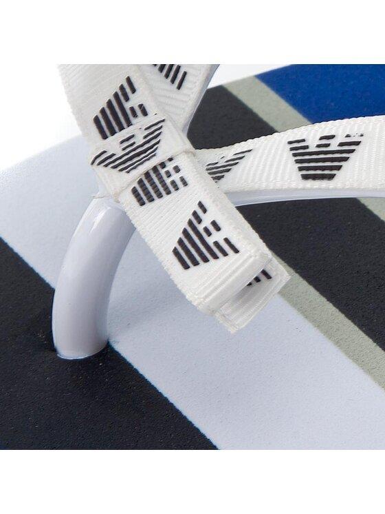 Armani Jeans Armani Jeans Žabky 925211 7P600 04833 Bílá