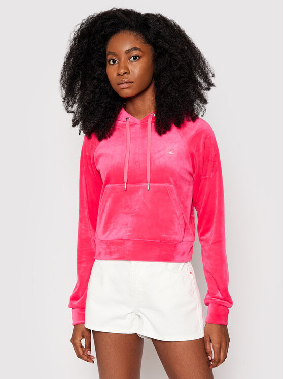 Juicy Couture Džemperis Sally JCAPW046 Rožinė Slim Fit