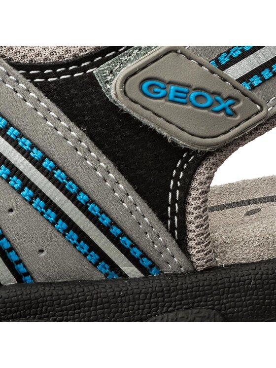 Geox Geox Сандали J S.Strada A J4224A 0CE14 C0415 M Сив