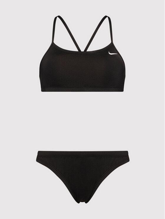 Nike Nike Strój kąpielowy Essential NESSA211 Czarny