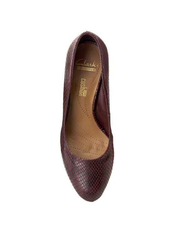 Clarks Clarks Обувки Arista Abe 261110664 Бордо