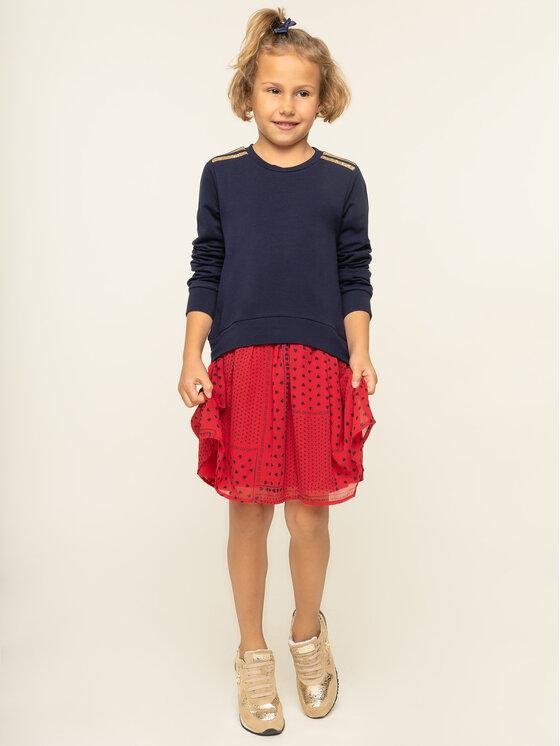Liu Jo Kids Kasdieninė suknelė G69013 F0090 Tamsiai mėlyna Regular Fit
