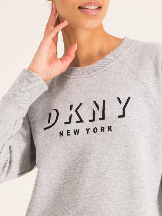 DKNY Sport DKNY Sport Mikina DP9T7096 Sivá Regular Fit