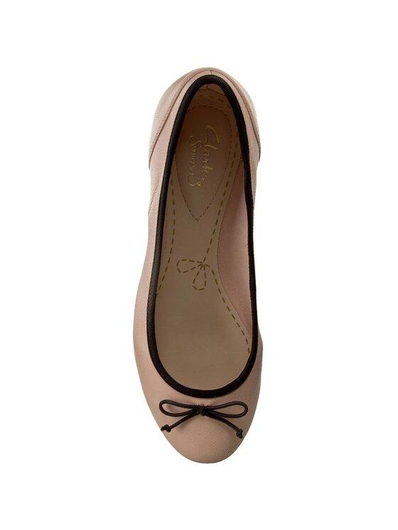 Clarks Clarks Baleriny Couture Bloom 261260064 Różowy