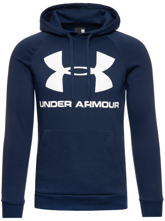 Under Armour Under Armour Pulóver UA Rival 1345628 Sötétkék Regular Fit