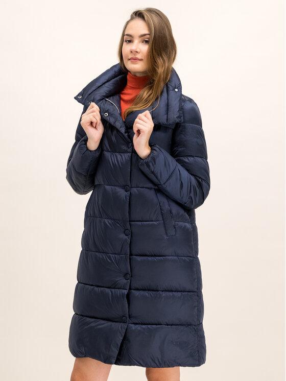 Save The Duck Save The Duck Παλτό χειμωνιάτικο D4520W IRIS9 Σκούρο μπλε Regular Fit
