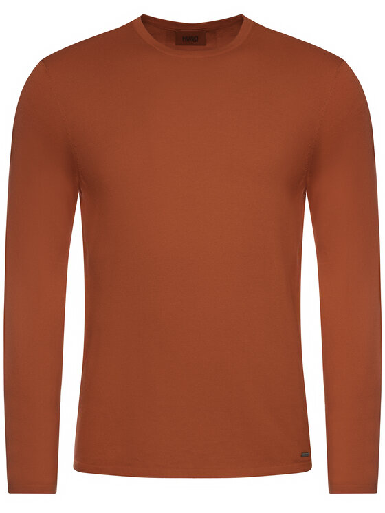 Hugo Hugo Sweter San Bastio 50379543 Czerwony Regular Fit