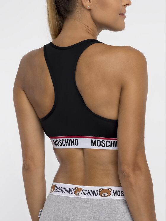 MOSCHINO Underwear & Swim MOSCHINO Underwear & Swim Сутиен-топ A4503 9014 Черен