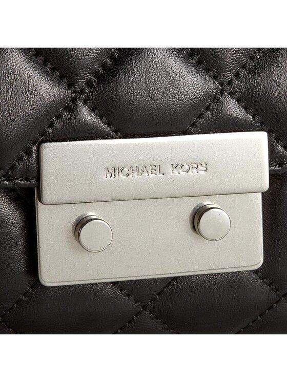 Michael Kors Michael Kors Handtasche Sloan 30F6ASLL4L Schwarz