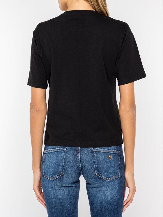 Guess Guess T-shirt W94I70 JA900 Noir Regular Fit