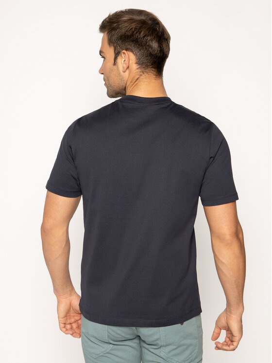 Emporio Armani Emporio Armani T-Shirt 3H1TD0 1J30Z 0924 Granatowy Regular Fit