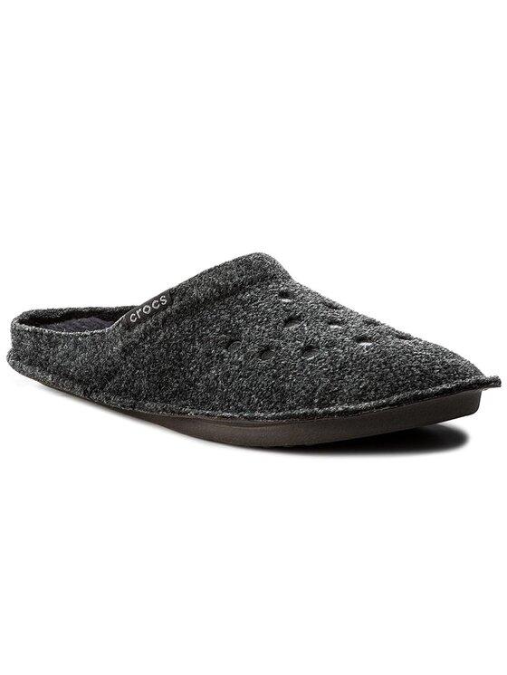 Crocs Crocs Hausschuhe Classic Slipper 203600 Schwarz