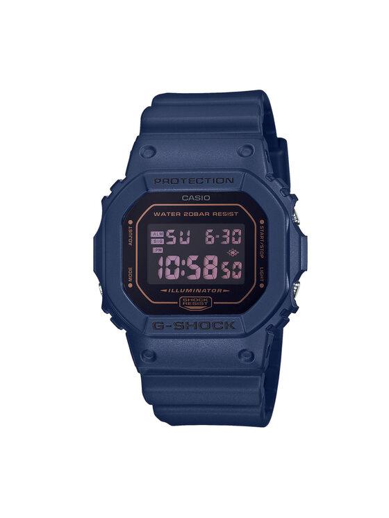 G-Shock Laikrodis DW-5600BBM-2ER Tamsiai mėlyna