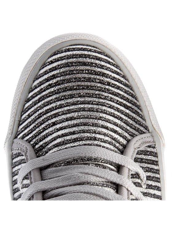 Guess Guess Sneakersy Jilly FLJLL3 FAM12 Strieborná