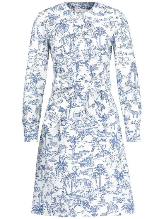 Tory Burch Tory Burch Sukienka codzienna 53922 Kolorowy Regular Fit
