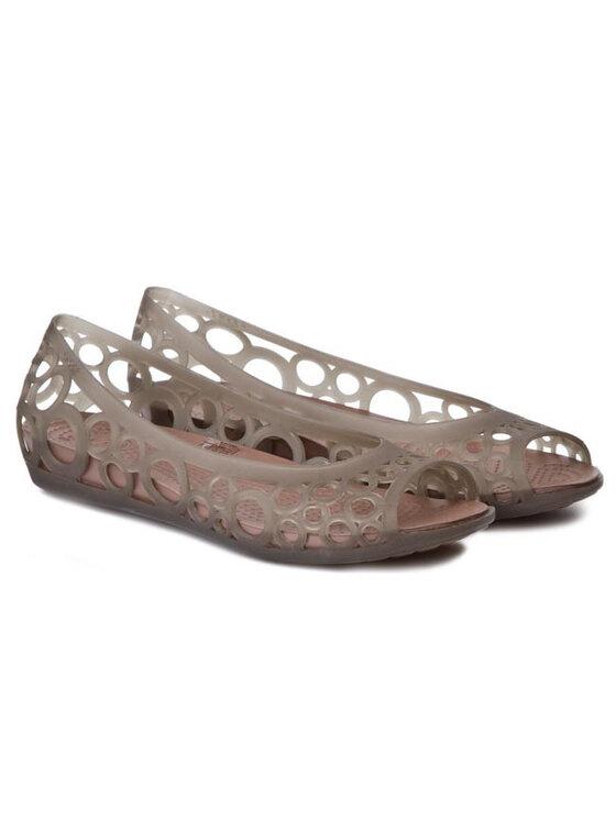 Crocs Crocs Μπαλαρίνες Adrina Flat Women 11238 Καφέ