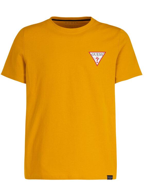 Guess Guess T-Shirt M93I08 K8FQ0 Gelb Regular Fit