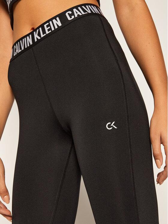 Calvin Klein Performance Calvin Klein Performance Legíny Full Length Tight 00GWF0L636 Černá Slim Fit