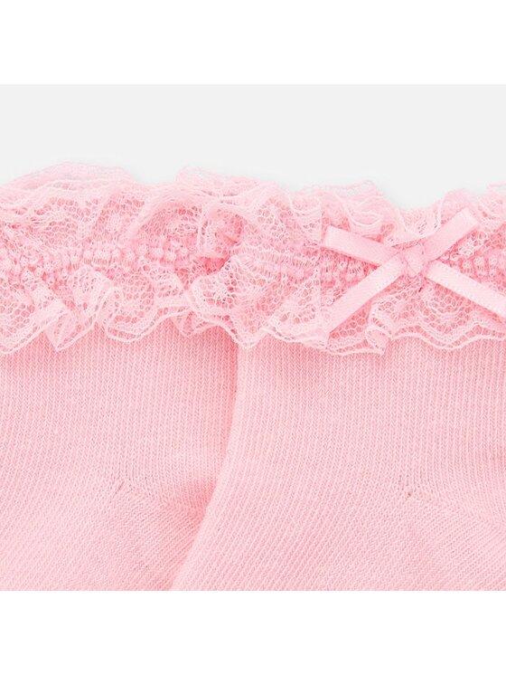 Mayoral Mayoral Vysoké dětské ponožky 9246 Růžová