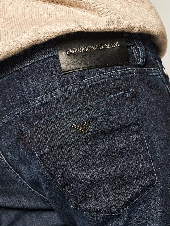 Emporio Armani Emporio Armani Džinsai 3H1J11 1D85Z 0941 Tamsiai mėlyna Extra Slim Fit