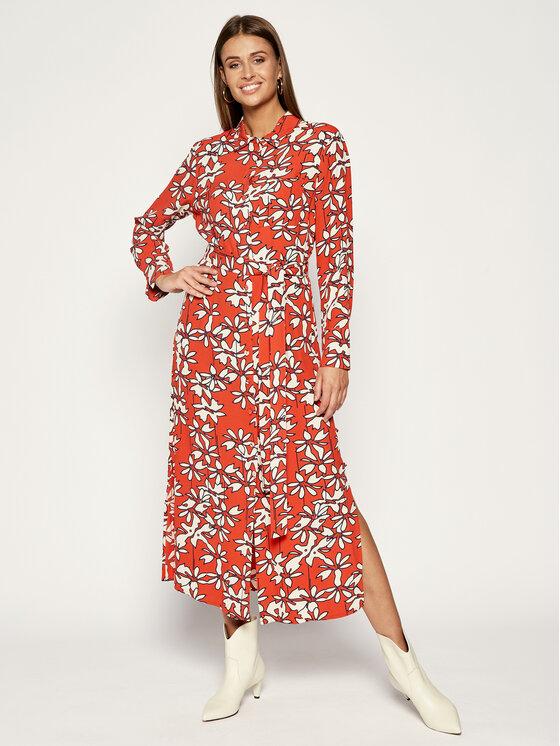 Laurèl Marškinių tipo suknelė 12002 Oranžinė Regular Fit