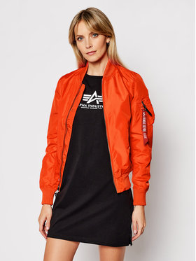 Alpha Industries Alpha Industries Bunda bomber Ma-1 Tt 141041 Oranžová Regular Fit