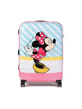 American Tourister American Tourister Średnia Twarda Walizka Waverbreaker Disney 85670-8623-1CNU Niebieski