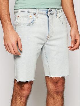 Levi's® Levi's® Szorty jeansowe 412™ Niebieski Slim Fit