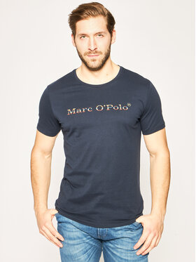 Marc O'Polo Marc O'Polo T-Shirt 021 2131 51098 Granatowy Shaped Fit