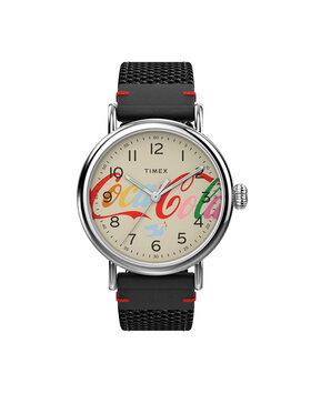 Timex Timex Zegarek Standard TW2V26000 Czarny