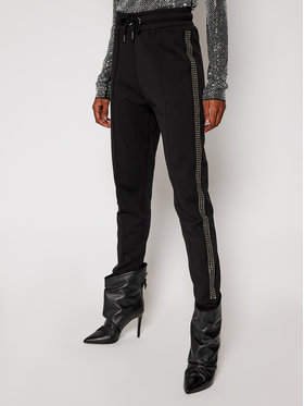 John Richmond John Richmond Teplákové kalhoty Balino RWA20194PA Černá Regular Fit