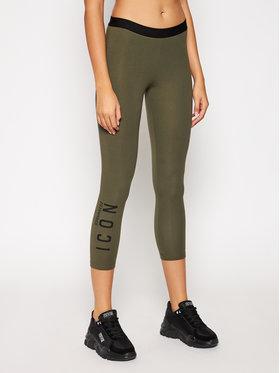 Dsquared2 Underwear Dsquared2 Underwear Colanți D8N333120 Verde Slim Fit