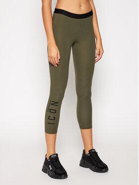 Dsquared2 Underwear Dsquared2 Underwear Leggings D8N333120 Verde Slim Fit