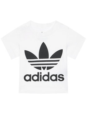 adidas adidas T-shirt Trefoil DV2828 Bianco Regular Fit