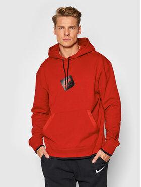 Nike Nike Bluză Jordan Jumpman Classics CV2244 Roșu Standard Fit