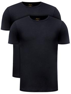 Polo Ralph Lauren Polo Ralph Lauren 2-dielna súprava tričiek 714513432 Čierna Slim Fit