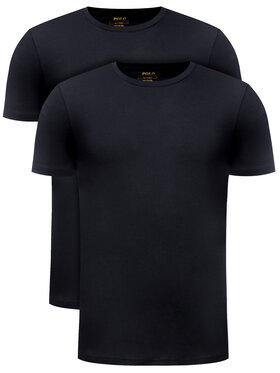 Polo Ralph Lauren Polo Ralph Lauren 2 póló készlet 714513432 Fekete Slim Fit